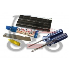 KIT DE REPARATION PNEU TUBLESS (OUTILS INCLUS)